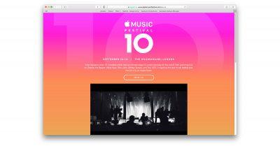 10th annual Apple Music Festival