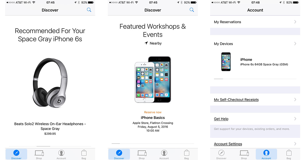 Apple Store App gets More Personal