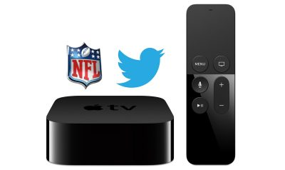 Apple TV, NFL, and Twitter
