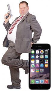 FBI Guy and iPhone