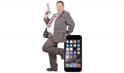 FBI Guy and iPhone