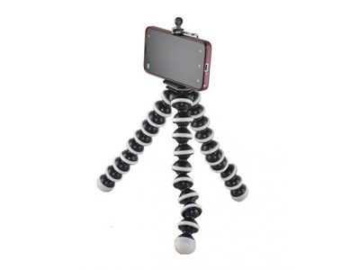 Flexible Tripod for iPhones, Android smartphones, and cameras