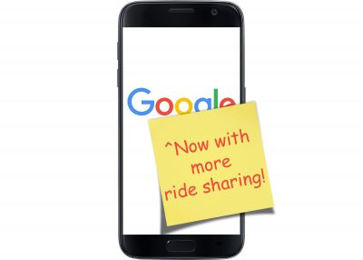 Google, now with more ride sharing!