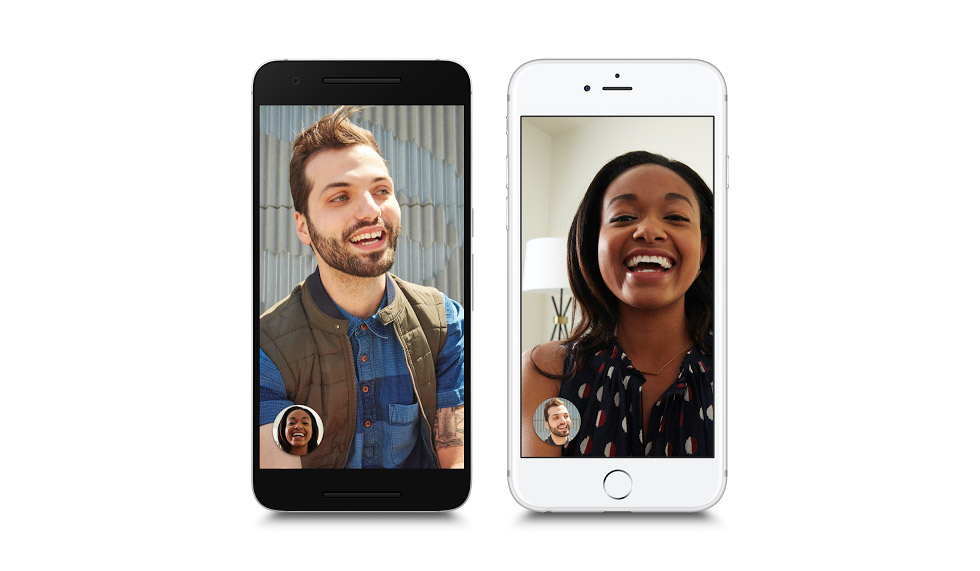 Google Duo on Android and iPhone