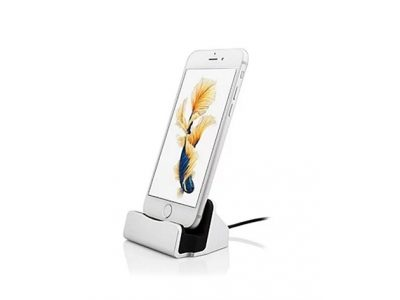 iPhone Charging Dock (Silver)