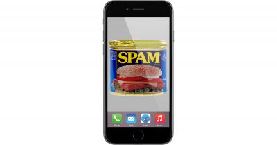 spam iPhone