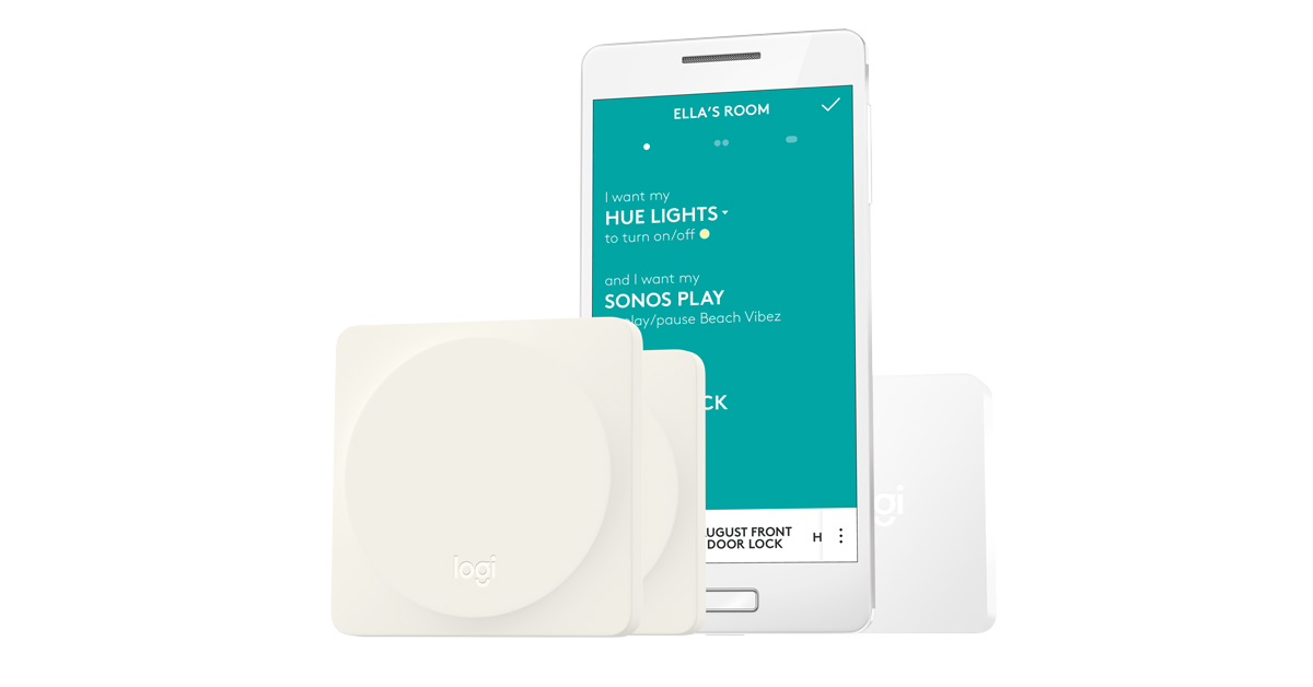 Logitech Pop Aims to Make Complex Smarthome Control Easy