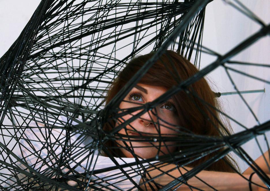 Watch Mini Robots Climb Walls and Weave Hammock…Like Spiders