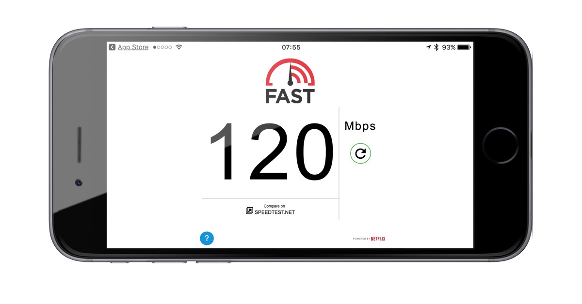 Netflix Fast Internet Speed Test Comes to iPhone