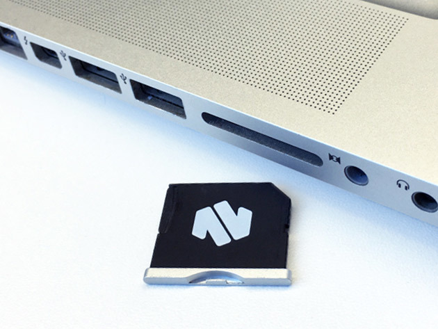 Nifty MiniDrive MicroSD Card Adapter for MacBook Air: $29.99