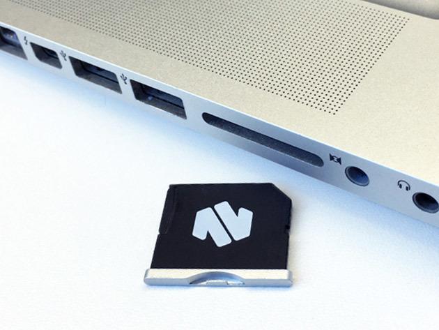 Nifty MiniDrive MicroSD Card Adapter for 13″ Macbook Air: $32.99