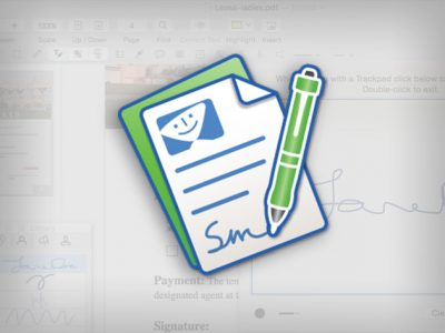 Smile Software's PDFpen