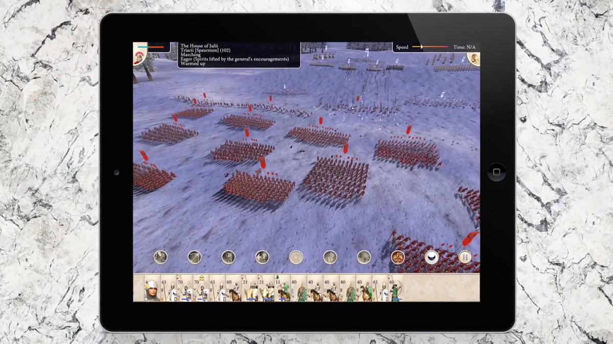 ROME: Total War Coming to iPad