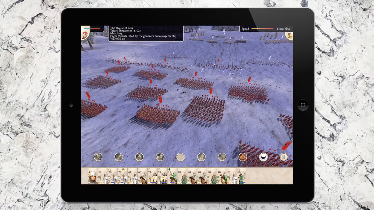 ROME: Total War Coming to iPad