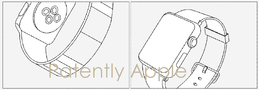 Samsung Uses Apple Watch Illustrations in Smartwatch Patent Application