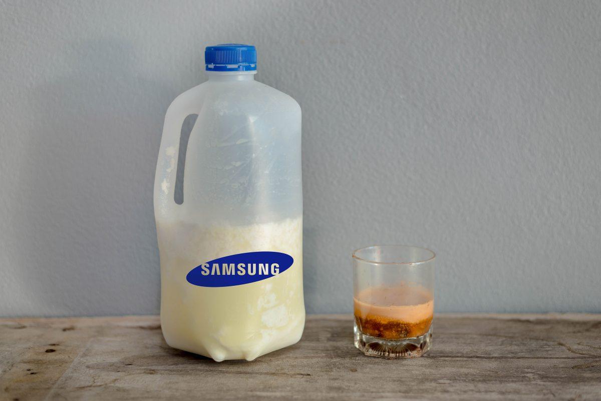 Samsung Milk