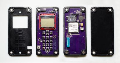 Self-assembly cellphone components