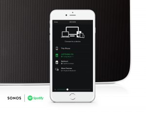 Coming in Beta in October, iOS users will be able to control Sonos from within the Spotify app.