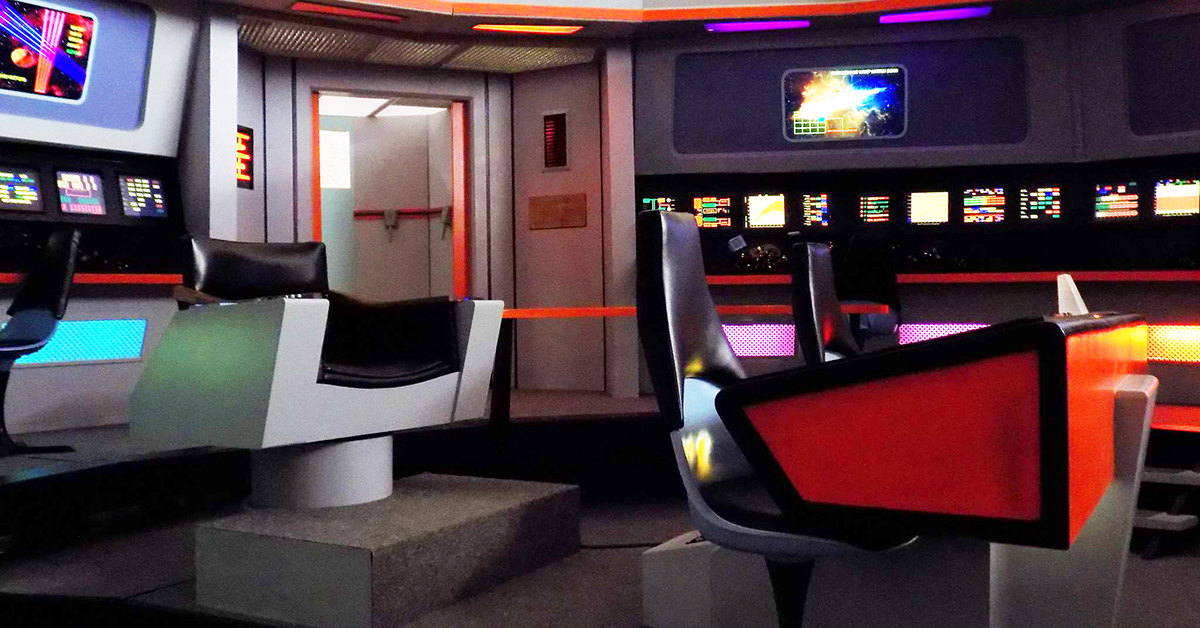 Beam Up and Tour the Classic Star Trek Enterprise Set