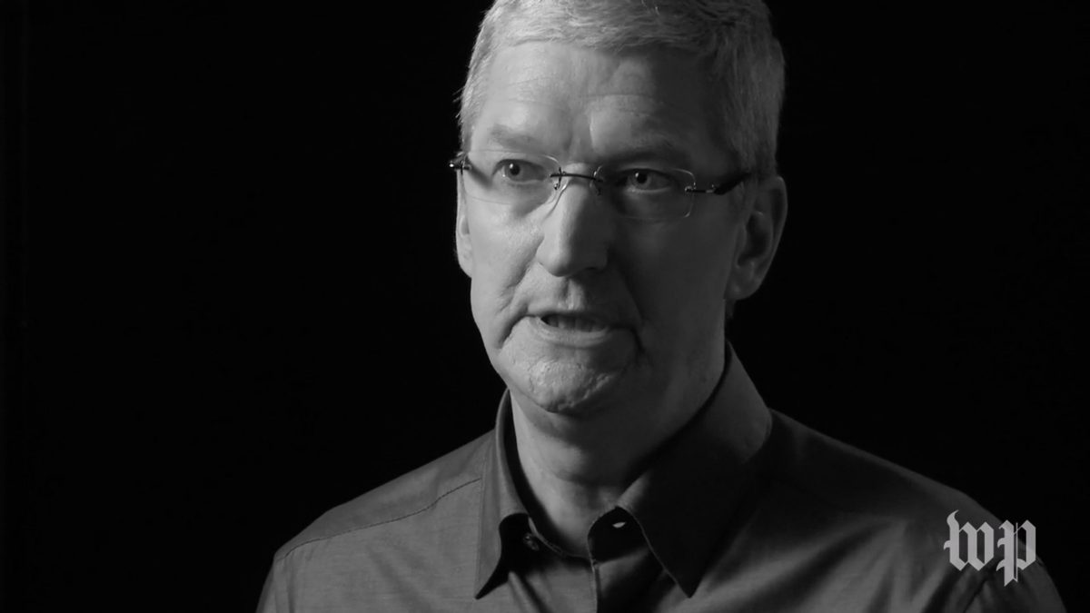 Tim Cook from Washington Post Interview