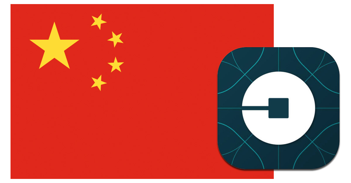 Uber China sold to Didi