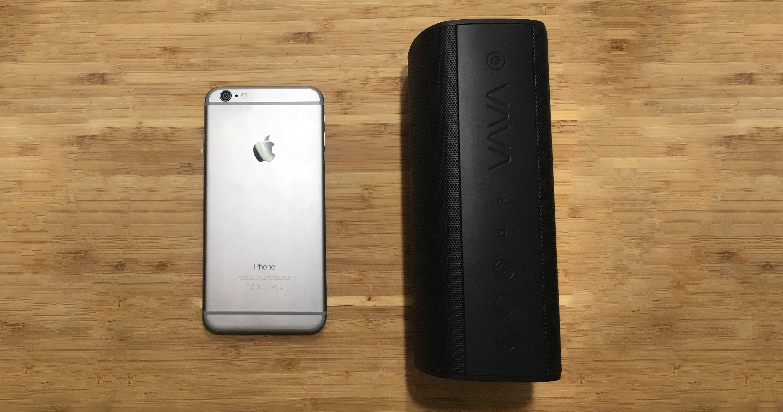 VAVA Voom 20 Portable Bluetooth Speaker, Full Sound & Water Resistant