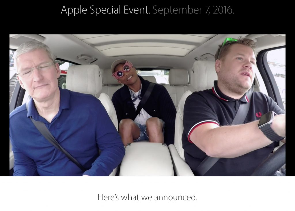 Carpool Karaoke—coming soon to Apple Music.