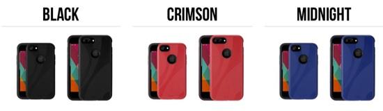 NuGuard KX case colors.