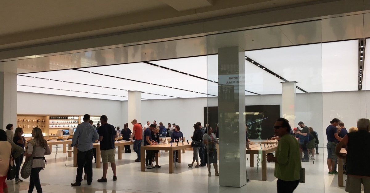 How to prevent the Apple Store from being stolen
