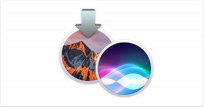 macOS Sierra Siri