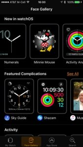 watchOS 3 Face Gallery