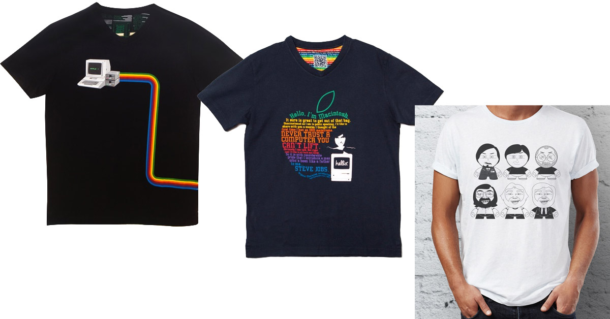 A-Shirt Makes Apple-Inspired Shirts for Apple Fans