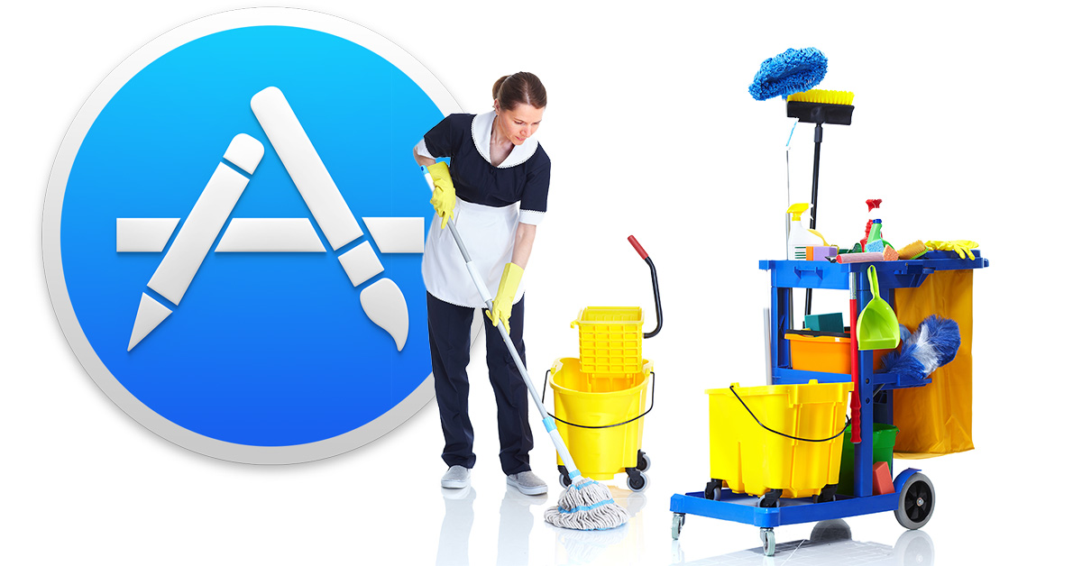 App Store cleaning house