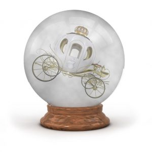 The Apple Crystal Ball with Artist Rendering of Apple Car