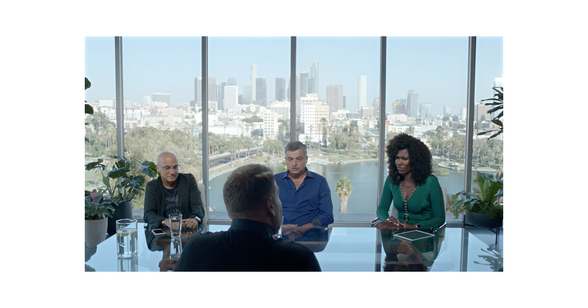 James Corden pitches Apple Music