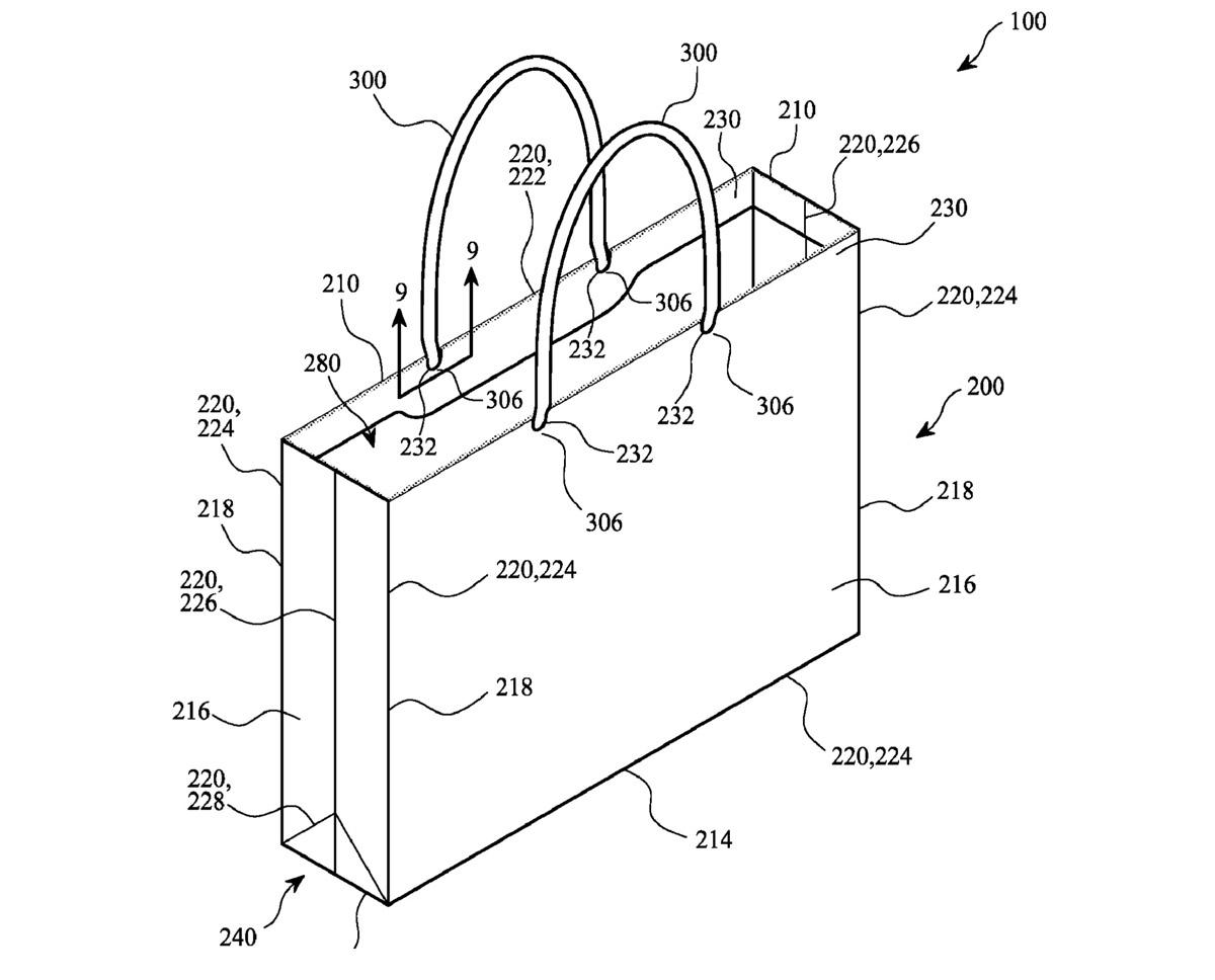 "Apple Patent Filing for ""Bag"""