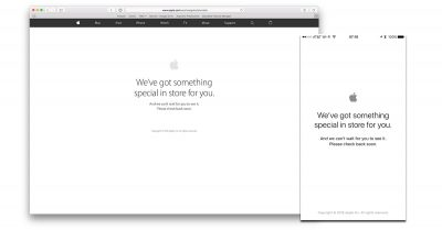 Apple Store offline