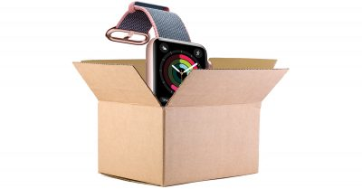 Apple Watch Series 2 in a box