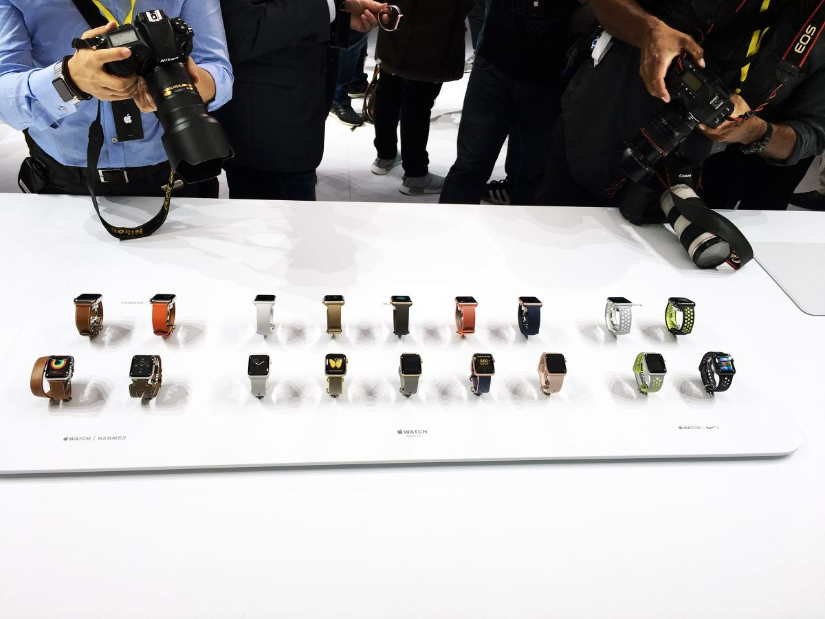 2016 Apple Watch product line