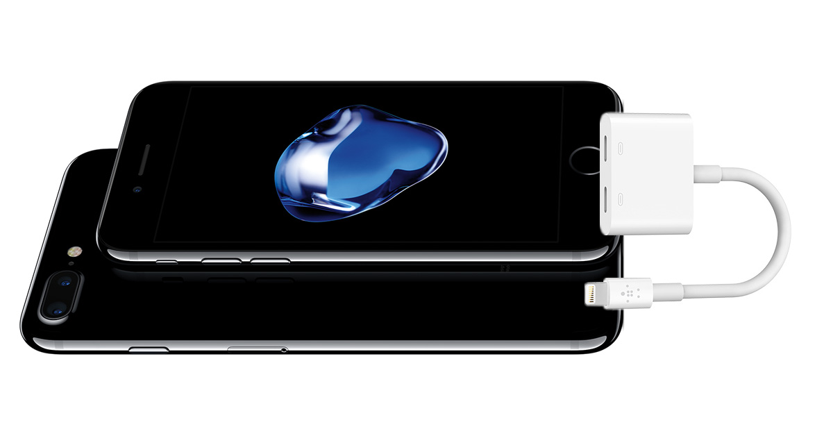 Belkin Lightning Audio + Charge RockStar adapter