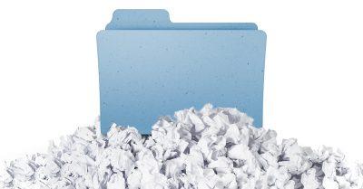 folders on top