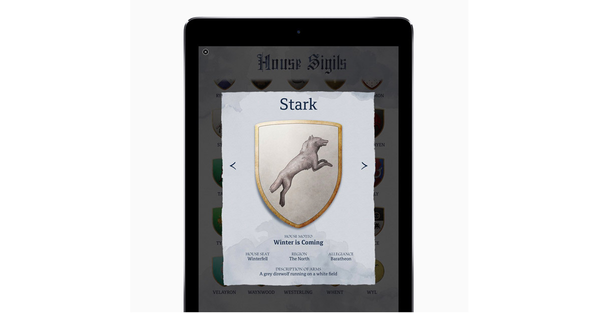 A Game of Thrones Gets Enhanced Edition Exclusive to iBooks