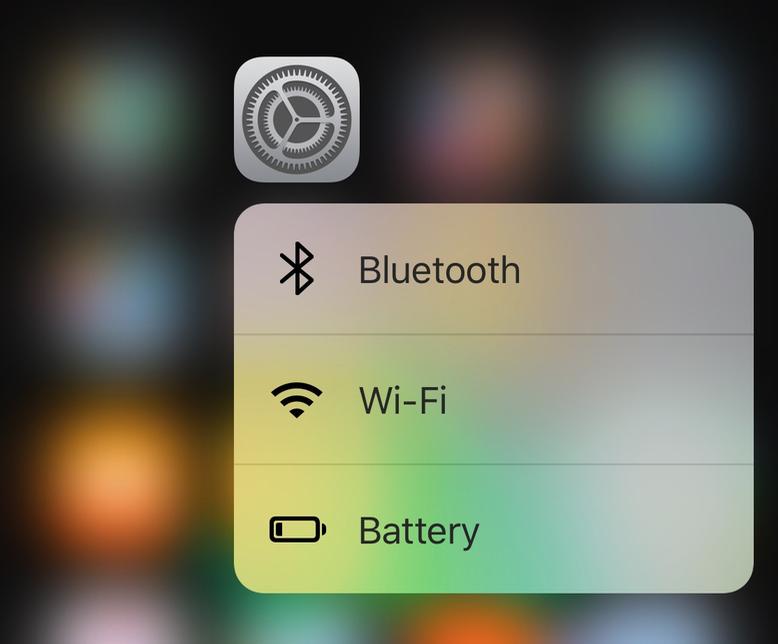 iOS 9 3D Touch