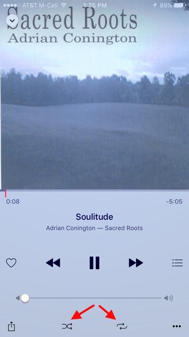 iOS 9 Music Player