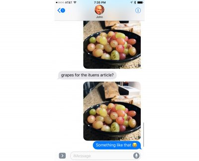 iMessage Low Quality Mode