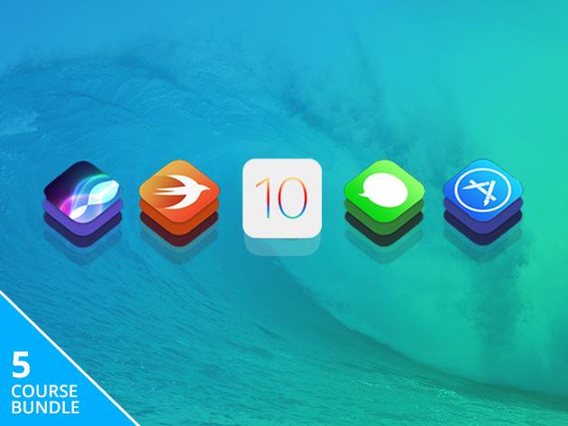 iOS 10 and Swift 3 Starter Bundle: $45