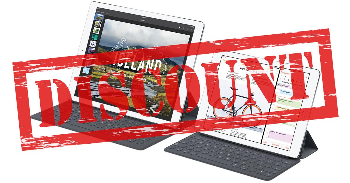 iPad lineup lower prices