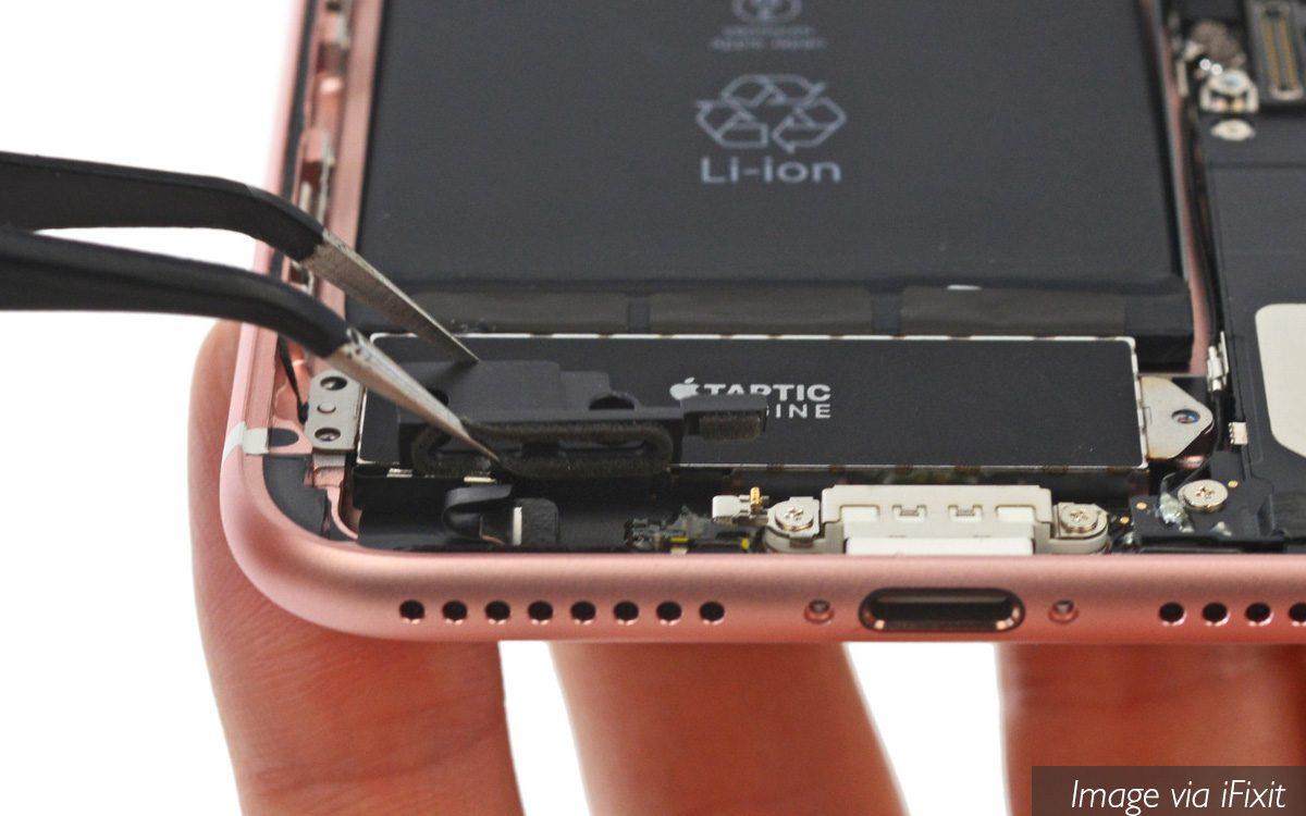 Iphone 7 Teardown Ifixit Fake Speaker