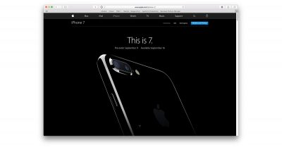 iPhone 7 preorder