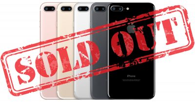iPhone 7 sold out